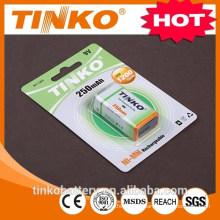 Industriais de Ni-mh recarregável bateria 9V