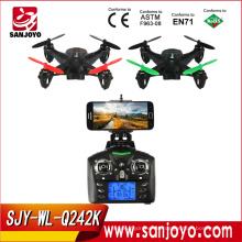 WLtoys Q242 - K WIFI FPV 4 canales de 6 ejes Gyro 2.4GHz RC Quadcopter con cámara de 2.0MP HD SJY-Q242K