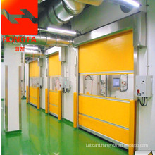 Rapid industrial PVC door