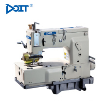 DT1412P Industrial 12 needle flat-bed double chain stitch multi-needle garment sewing machine price