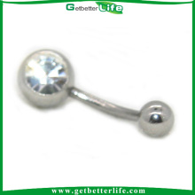Disposable Superstar Navel Ring Piercing Belly Naval Ring
