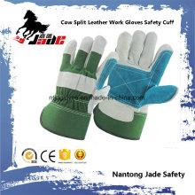 Ab Grade Industrial Safety Leder Palme Arbeitshandschuhe