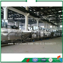 China Vegetable Fruit Conveyor Dryer