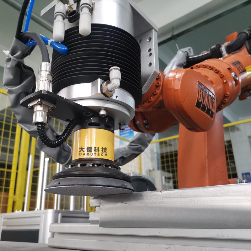 Constant force actuator for Sheet metal welding grinding