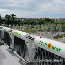Sonnenkollektor für Klimaanlage
