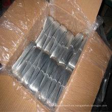 Alambre de hierro galvanizado caliente-sumergido / alambre de metal galvanizado