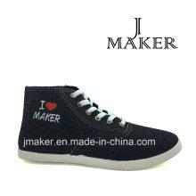 2016 Moda Casual lona Denim zapatos Jm2043-L