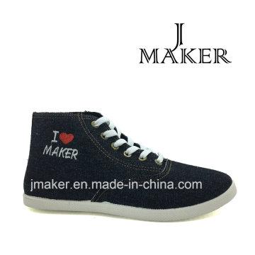 2016 Мода Повседневная Холст Обувь Джинсовые Jm2043-Л