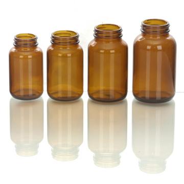 Янтарный стеклянная бутылка