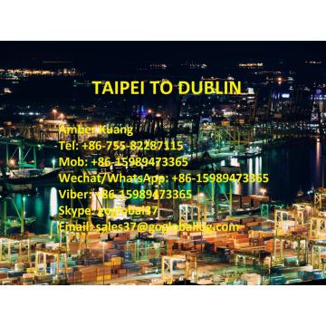 Taiwan Taipei Sea Freight to Ireland Dublin