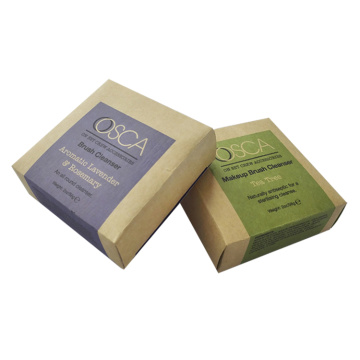 Custom Pint Small Soap Caixa de papel Kraft