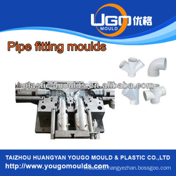 Zhejiang Plastic mold supplier for standard size PVC pipe fitting mould in taizhou