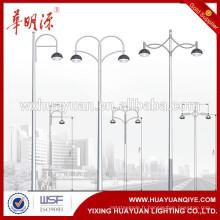 Lumières led éclairage pollinisé éclairage de rue / conception de poste de lampe