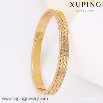51256 -Xuping Fine Jewelry Bangle Pour les femmes Cadeaux avec plaqué or 18 carats