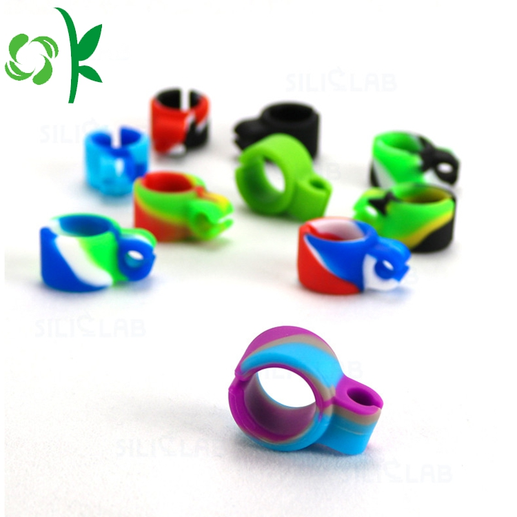 Mixing Color Smoking Silicone Ring