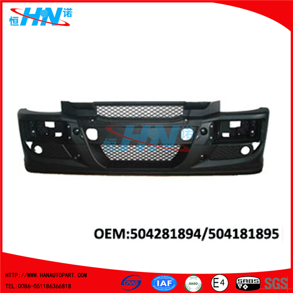 Replacement Front Bumper 504281894 504281895 Truck Parts