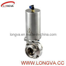Stainless Steel Butterfly Valve with Pneumatic Actuator