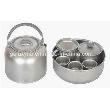 Venda quente de Eco-Friendly titânio Tee Cup