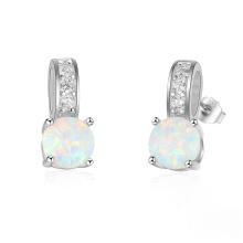 High End Opal Earring Popular jewelry Opal Stone Earrings for Women