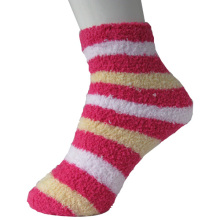 Stripe Floor Socks Lady