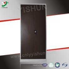 India Steel almirah armário de arquivamento armário de aço preço com duas portas e espelho