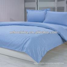 Fashion design direct factory made wholesale luxury 100%cotton hotel bedding set