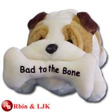 ICTI Audited Factory High Quality Custom Promotion mascot stuffed bulldog