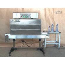 Máquina caliente del túnel del encogimiento del casquillo del PVC de la venta para la botella de cristal