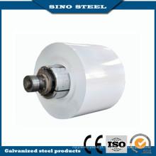Alto brilhante 0,6 mm espessura Prepainted bobinas de aço PPGI