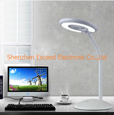 Eye Protection 6W Round LED Table Lamp