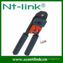 stainless steel pipe crimp tool with additional lock