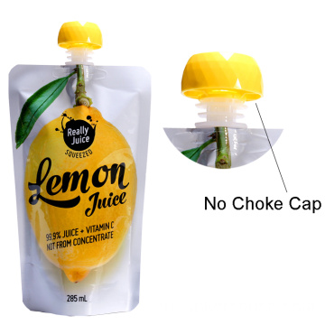 Spout Pouch Reusable Juice Packaging Bag