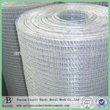 roll mild steel welded wire mesh fence netting