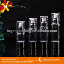 15ml 30ml 40ml 50ml bouteille de pompe à vide en plastique