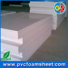 Folha UV da espuma do PVC da impresso de 1mm Digital para o uso exterior (melhor tamanho: 1.22m * 2.44m)