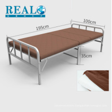 Manufacturer modern bed handrail designs folding cushion bed furniture sell at a discount