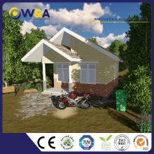 (WAS1007-40D) Maisons modulaires préfabriquées en Chine économique et de luxe en Ouganda