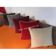 Capa de Almofada de Veludo Almofada de Assento