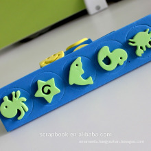 Animal shape diy foam stamps in lahore