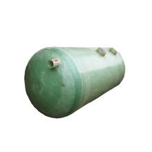 Fosa séptica de fibra de vidrio para depuradora de aguas residuales