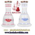 Meilleure vente de bouteille de narguilé générale de verre blanche