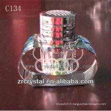 Belle bouteille de parfum en cristal C134