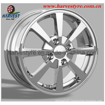 Hyper Silver Car Wheels