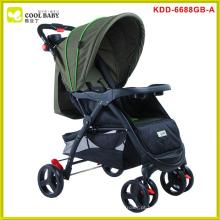 China fabricante NEW design personalizado seguro carrinho de bebê pram triciclo