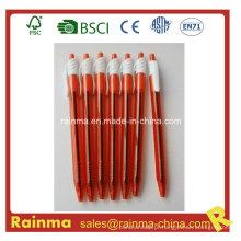 Caneta de tinta barata para clique em vermelho