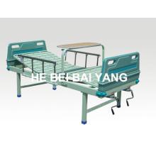 Cama de hospital manual de doble función a-90