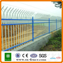 CE certificate Zinc Steel Ornamental Iron Tubular Fence