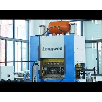 Machine de fabrication de poinçon de bombe aérosol pour ligne d'emballage en métal