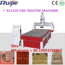 Jinan Ruijie 1325 3 Axis CNC Milling Machine with CNC Router Machine for Wood Router CNC