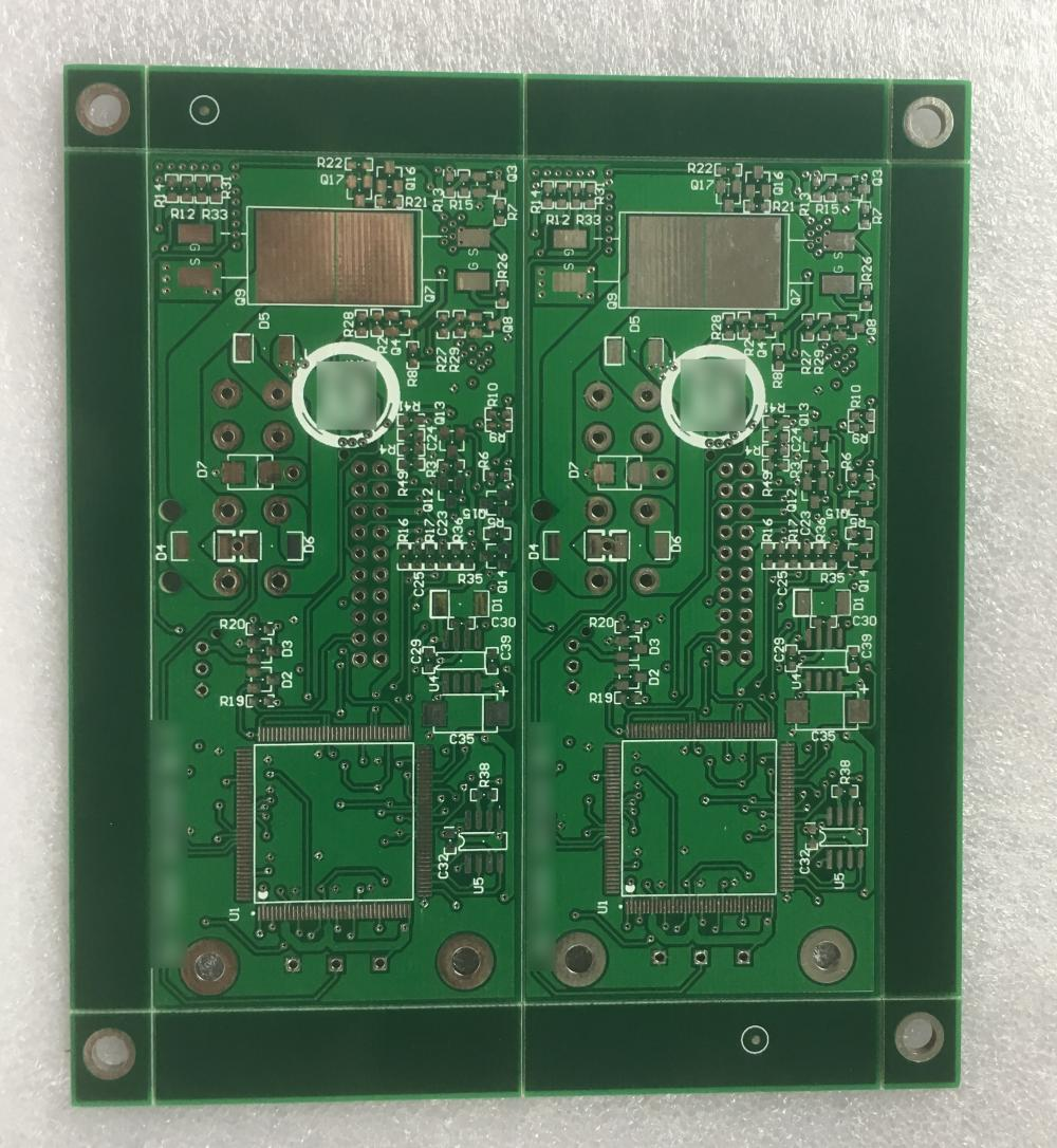 4 layer Green Solder sun tracker PCB